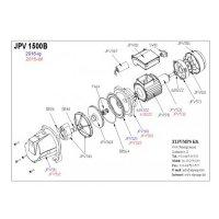 JPV 1500 B kerti szivattyú